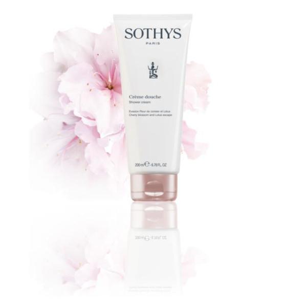 Crème douche Evasion Fleur de cerisier et lotus Sothys